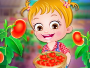 Play Baby Hazel Tomato Farming game