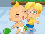 Play Angry Baby Run game