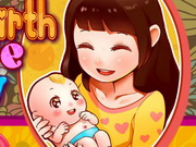 Play Mom Give Birth Newborn Babys game