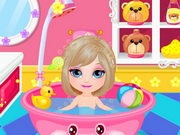 Baby Barbie Shower Fun Game