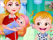 Play Baby Hazel Newborn Vaccination game