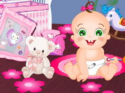 Play Baby Rosy Bedroom Decoration game