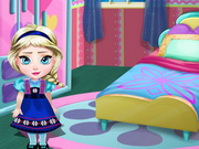 Play Baby Elsa Room Decoration game