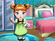 Play Baby Anna Room Decoration game