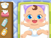 Newborn Baby Care Game