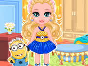 Play Baby Barbie Minion Craze game