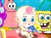 Play SpongeBob N Patrick Babysit game