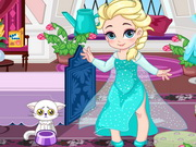 Baby Elsa Skiing Trip Game