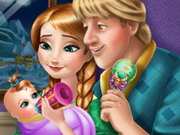Anna Kristoff Baby Feeding Game