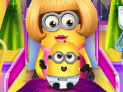 Play Minion Girl And The New Born Baby game