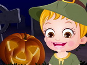 Baby Hazel Halloween Night Game