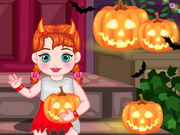 Baby Anna Halloween Difference Game