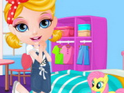 Baby Barbie My Girly Room Deco Game