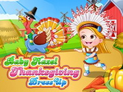 Play Baby Hazel Thanksgiving Dressup game