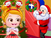 Play Baby Hazel Christmas Dressup game
