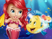 Play Baby Ariel Fish game