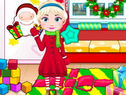 Play Elsa Baby Celebrate Christmas game