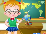 Play Baby Hazel Teacher Dressup game