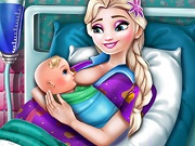Play Elsa Mommy Birth game