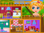 Play Baby Sana Doll House game