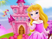 Play Baby Aurora Castle Decoration game