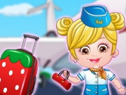 Play Baby Hazel Air Hostess Dressup game