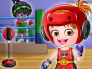 Play Baby Hazel Boxer Dressup game