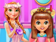 Play Baby Princess Hair Salon game