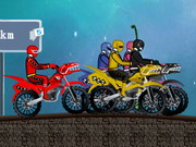 играя Power Rangers Race игра