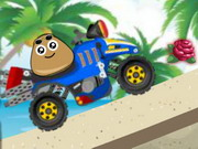 Play Pou Beach Ride game