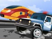 Lecture Police train Chase jeu