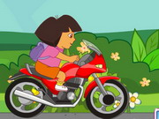 Dora Motorcycle Race Game