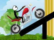 Stickman Jim Bike Game