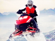 Snowmobile Cross Country Game