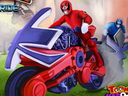 Play Power Rangers Power Ride game