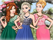 Play Disney Princess Spring Ball game