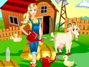 Play Barbie Farm Day game