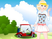 Play Barbie Goes At Golf game