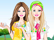 Play Barbie Golf Fashionista game