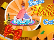 Barbie Halloween Cake Game