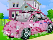Play Barbie Car Cleaning game