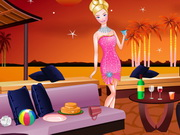 Play Barbie's New Year Bash Cleaning game