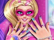 Play Super Barbie Power Nails game
