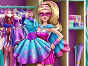 Super Barbie Closet Game