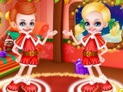 Play Barbie And Ken Xmas Babies game