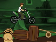 Play Ben10 Bike Riding game