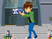 Play Ben 10's Zombie Survival game