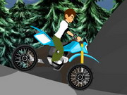 Ben10 Halloween Bike Game