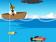 Play Ben10 Fishing Game game