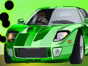 Ben10 Crash Cars Game